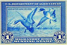 Duck Stamp, 1934