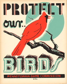 WPA Bird Poster