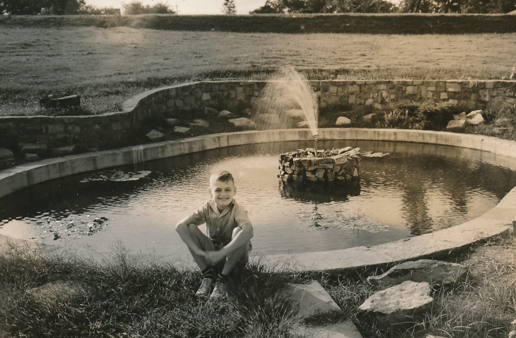 This young fellow is enjoying some peace and serenity in a park in Gadsden, Alabama, improved by the Federal Emergency Relief Administration. Photo courtesy of the National Archives (1937).