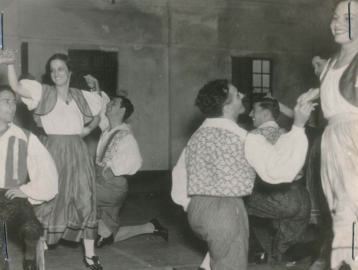 Dance can lift the spirits, as this WPA adult recreation project in Louisiana shows. Photo courtesy of the National Archives (ca. 1935-1943).