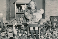 Toys galore at a WPA toy repair project in Chelsea, Massachusetts. Photo courtesy of the National Archives (ca. 1935-1943).