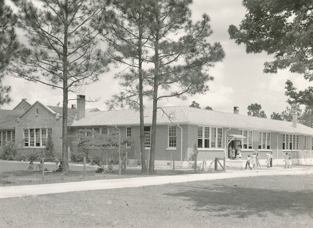 W.S. Neal High School, East Brewton, Alabama, 1939