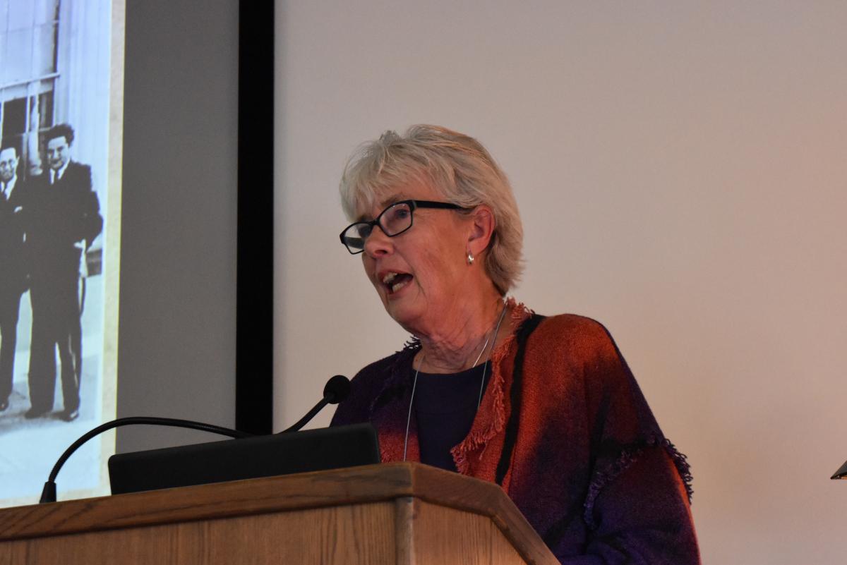 Presenter, Brigid O'Farrell