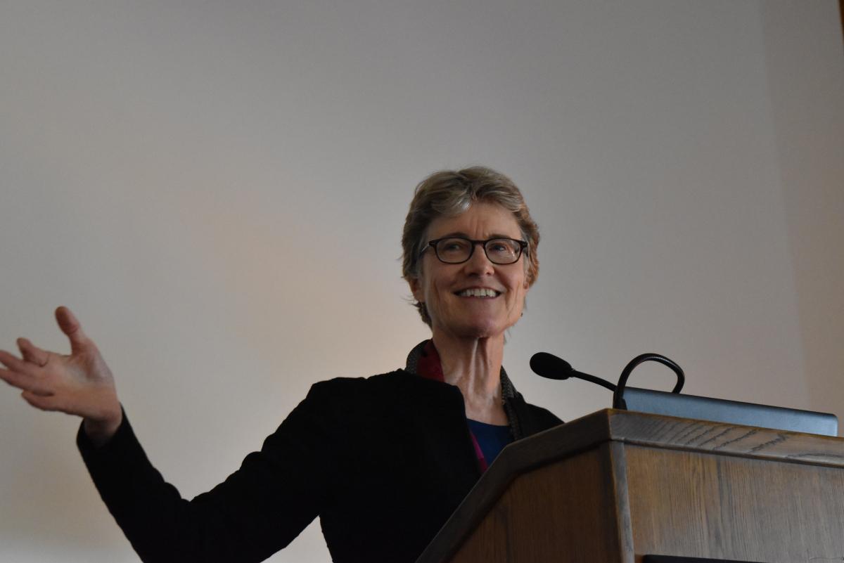 Moderator, Elizabeth Partridge