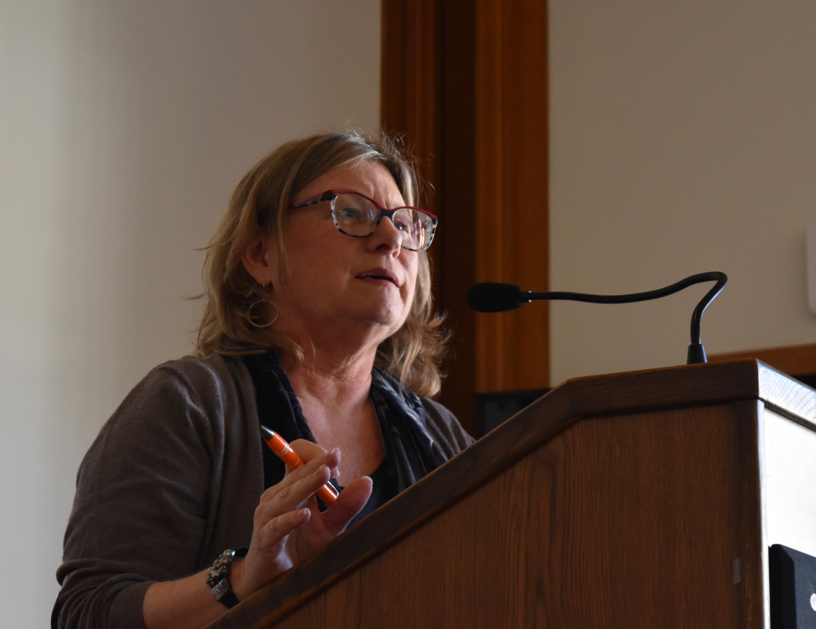 Kirstin Downey, keynote speaker