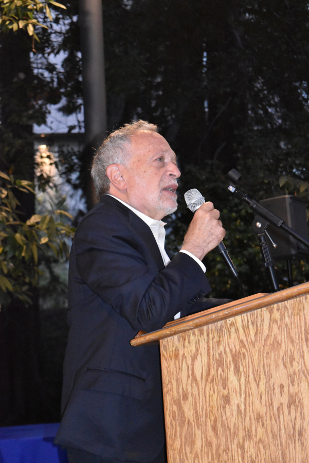 Dr. Robert Reich,  Frances Perkins Center Intelligence and Courage awardee