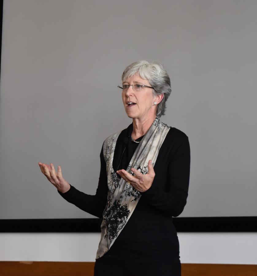 Robin Gerber, keynote speaker