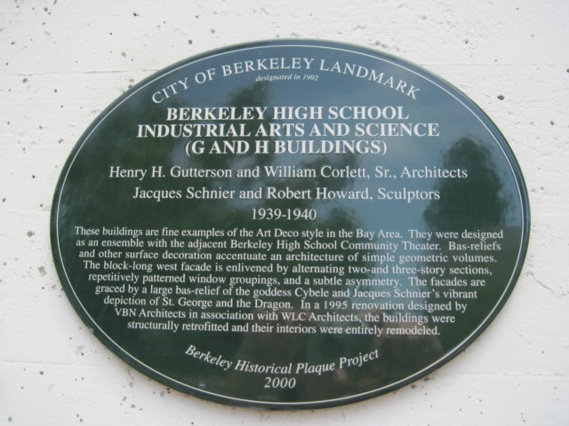 Science Building City Landmark Sign