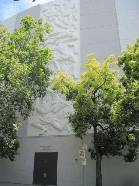 Berkeley High Theater Relief
