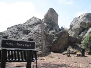 Indian Rock Park Sign