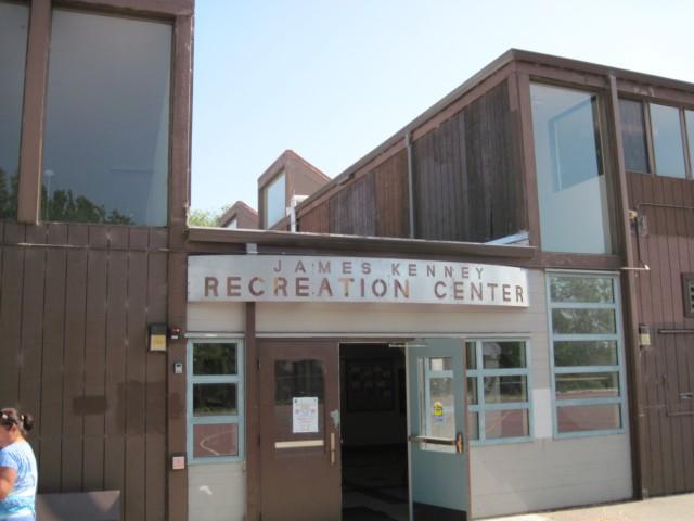 James Kenney Recreation Center Entrance