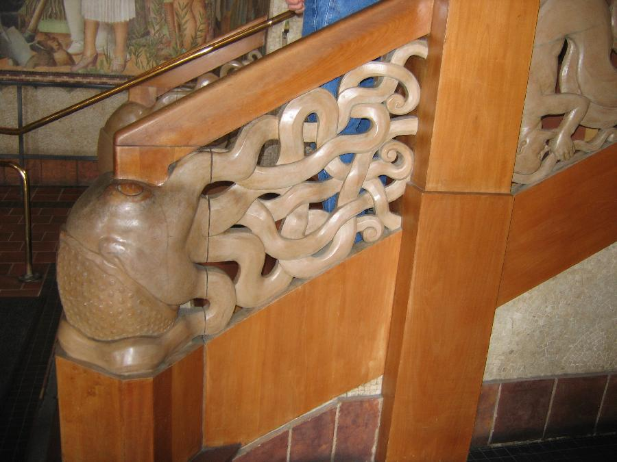 Staircase at the Beach Chalet