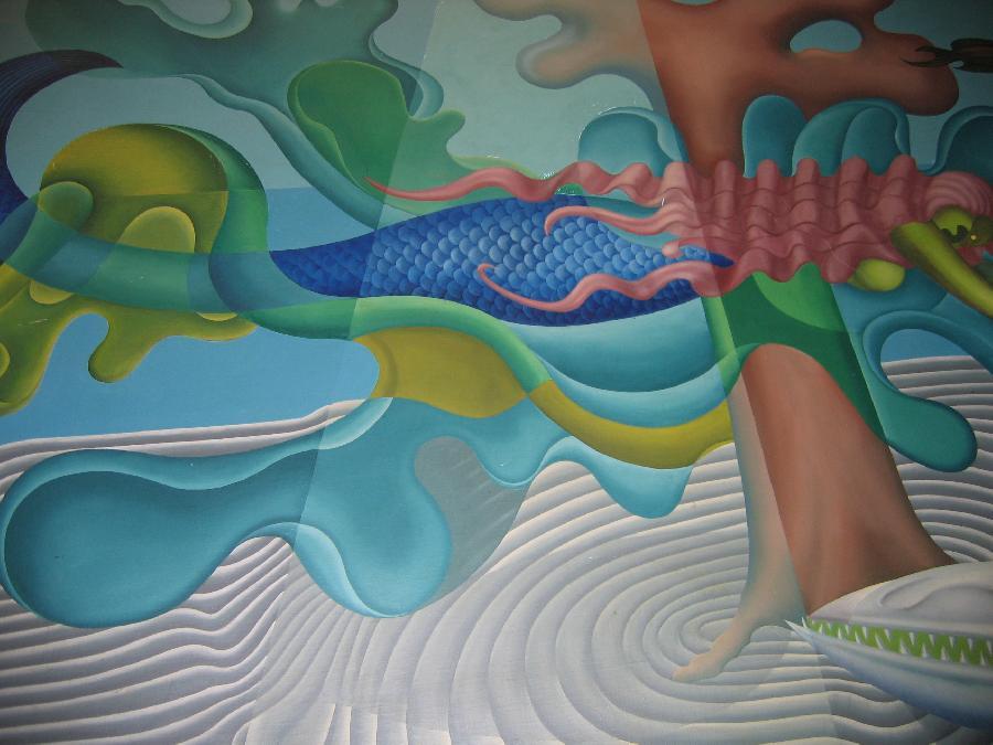 """""""Undersea Life"""", Detail"""