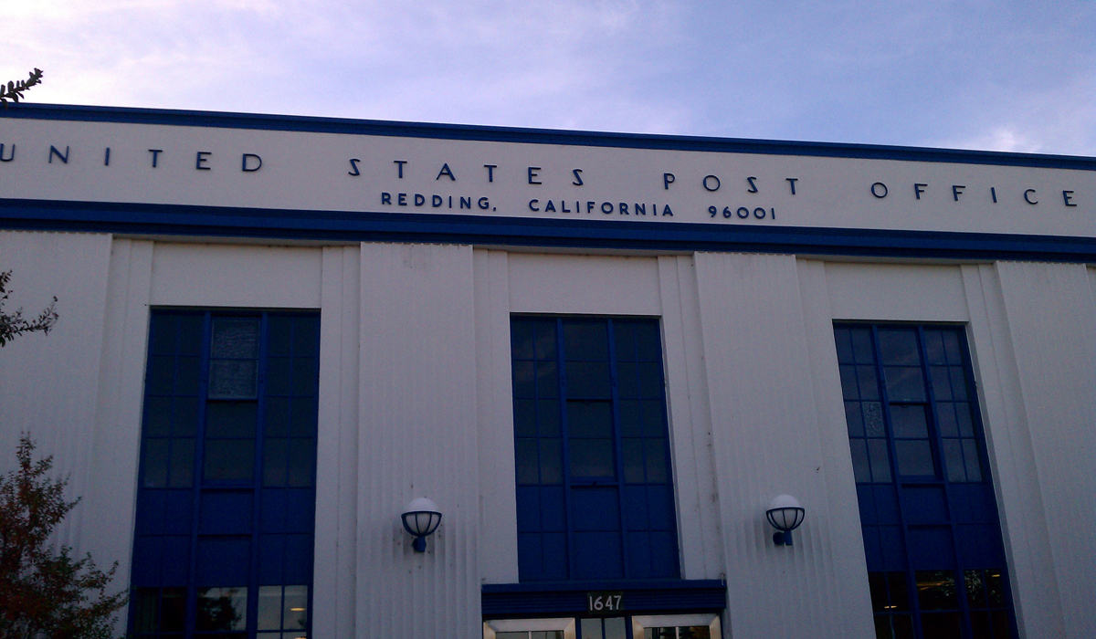 Redding CA Post Office