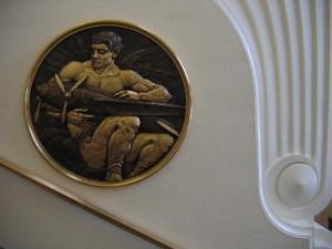 Sculptural Relief in Burbank City Hall