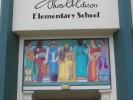 Thomas Edison Elementary School, relief panel