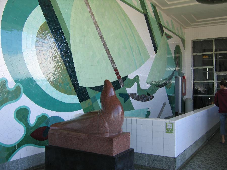"""Sea Forms"" Interior Mosaic"