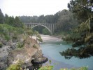 Russian Gulch State Park, bridge