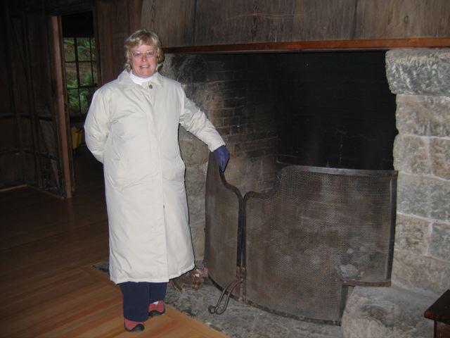 Fireplace, Mendocino Woodlands State Park