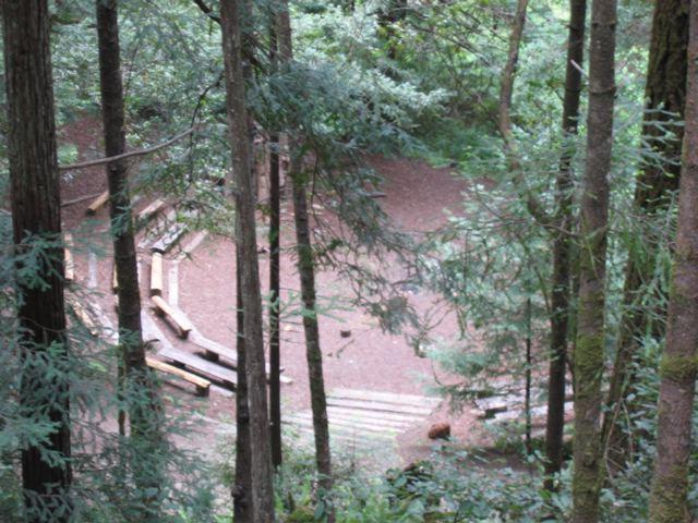 Amphitheater, Mendocino Woodlands State Park