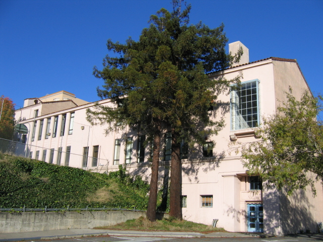 Science wing (Woods Hall) built for San Francisco State Teachers' College.