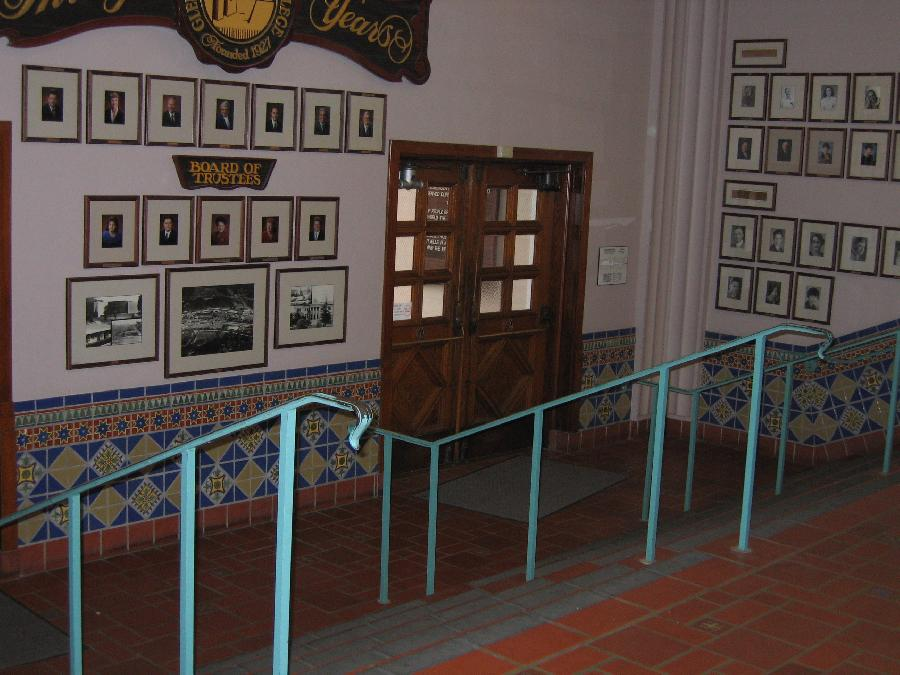 Davitt Admin Building--interior