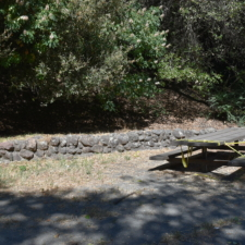 Rock wall and table,Temescal Regional Park - Oakland CA