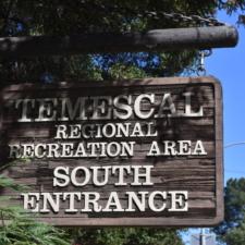 Entrance sign, Temescal Regional Park - Oakland CA