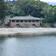 Beach House across lake, Temescal Regional Park - Oakland CA
