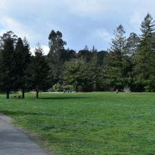 Play field below dam,Temescal Regional Park - Oakland CA