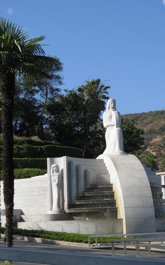 Hollywood Bowl WPA Fountain