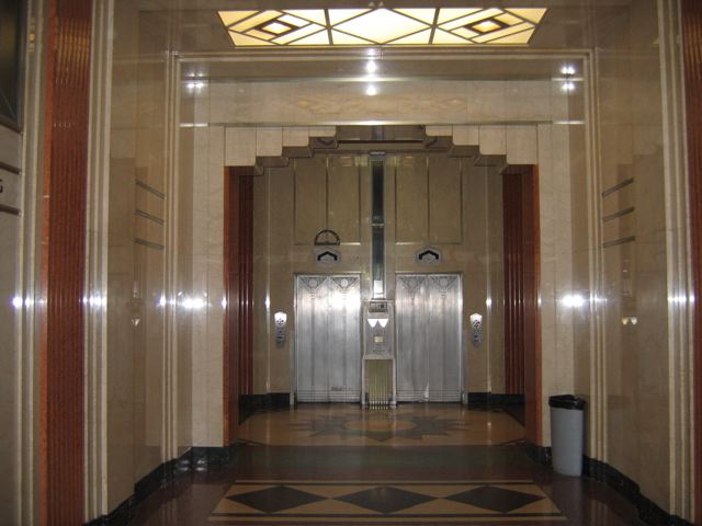 Fesno County Hall of Records: Elevator Doors