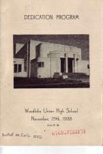 Dedication Program for Woodlake Union High School