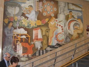 """""""Theory & Science Mural"""" 3"""