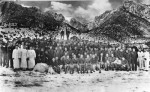 Lone Pine CCC Camp: Boys on Easter
