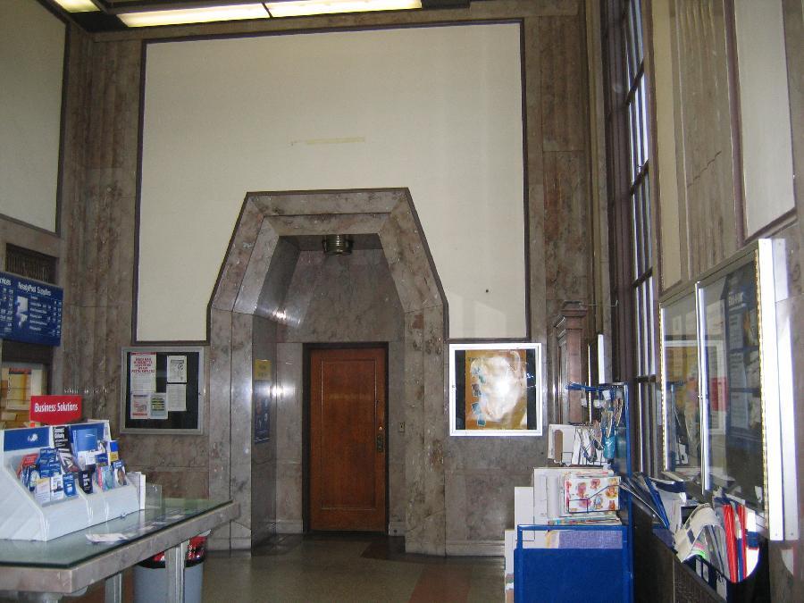 Visalia Post Office: Interior