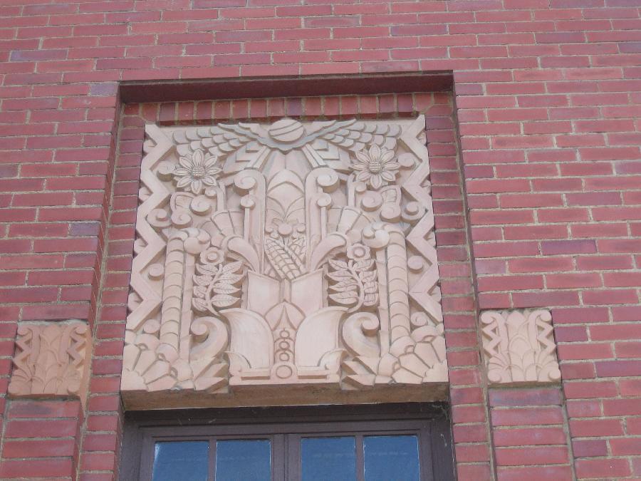 Visalia Post Office: Detail Work
