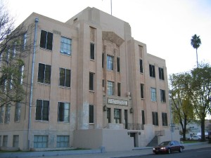 Front of Tulare County Department of Public Social Services