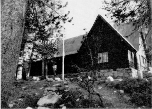 Tuolumne Meadows Mess Hall, now the Visitor Center. CCC (1934).