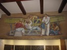 Burbank Post Office Mural, Aeronautics Panel