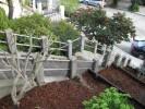 Bernal Heights stairway garden