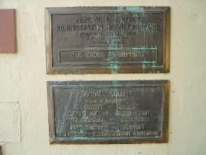 Oak Knoll Sanatorium, plaque