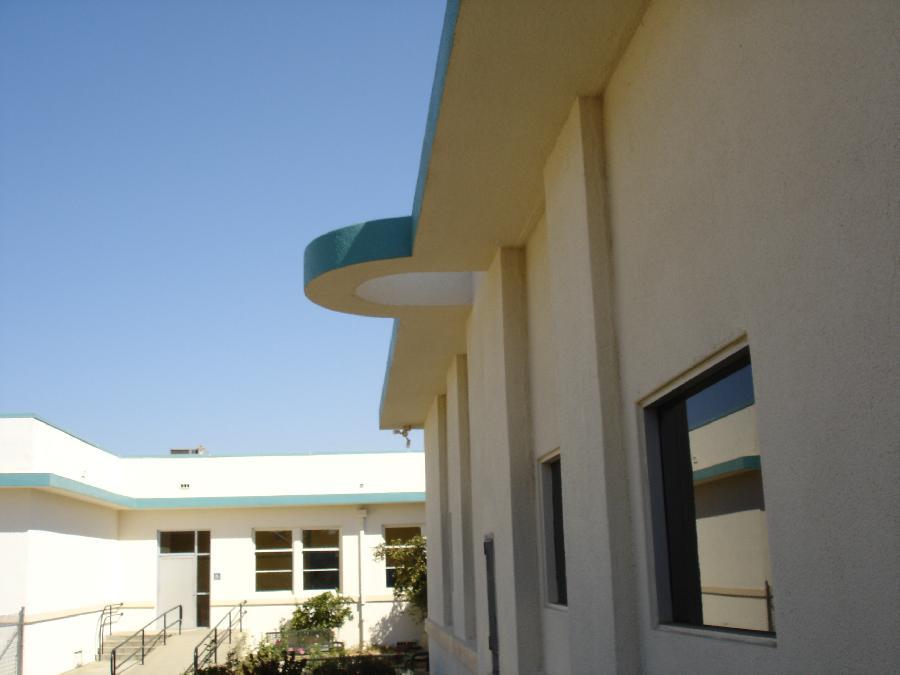 Bartlett School Roof Detail