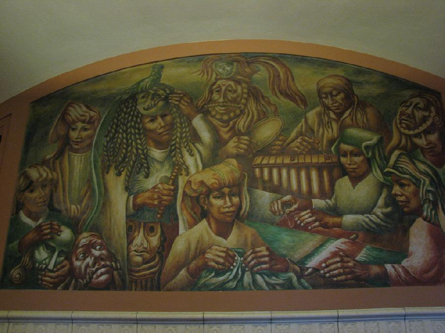"""Los Angeles Post Office """"Cultural Contributions of North, South and Central America"""" (2)"""
