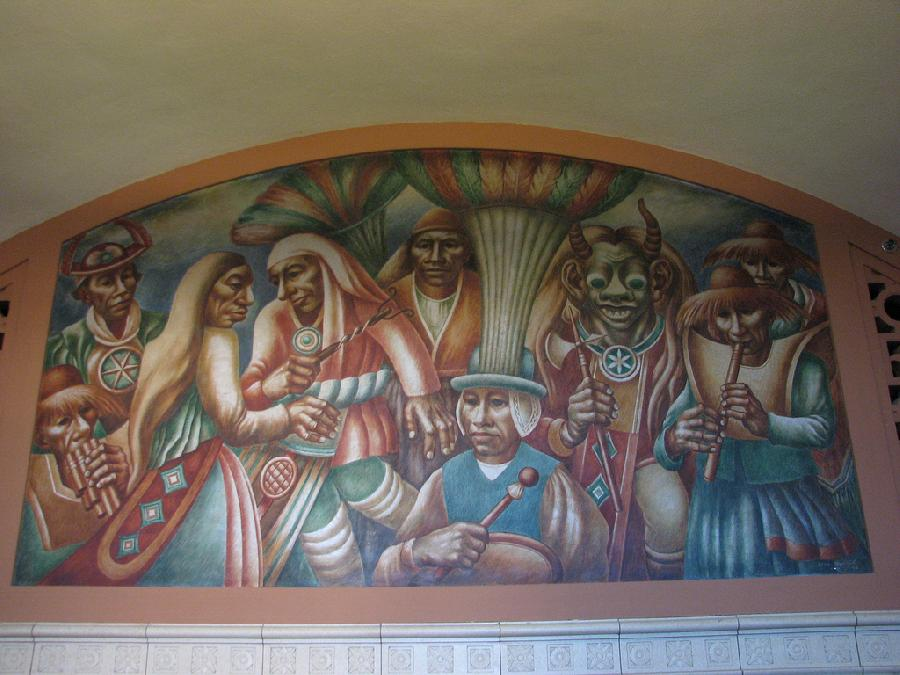 """Los Angeles Post Office """"Cultural Contributions of North, South and Central America"""" (4)"""