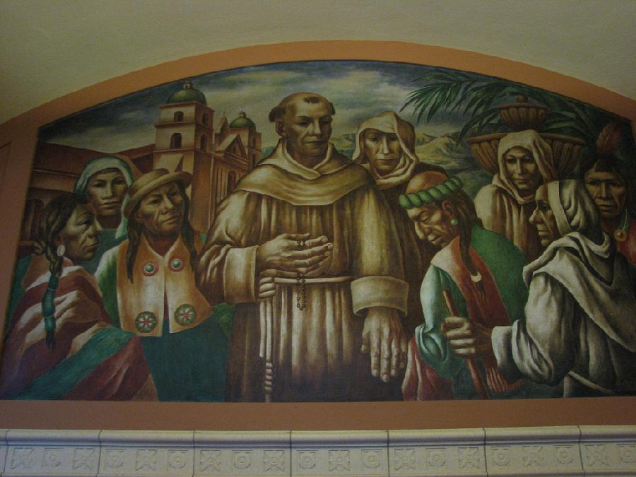 """Los Angeles Post Office """"Cultural Contributions of North, South and Central America"""" (6)"""