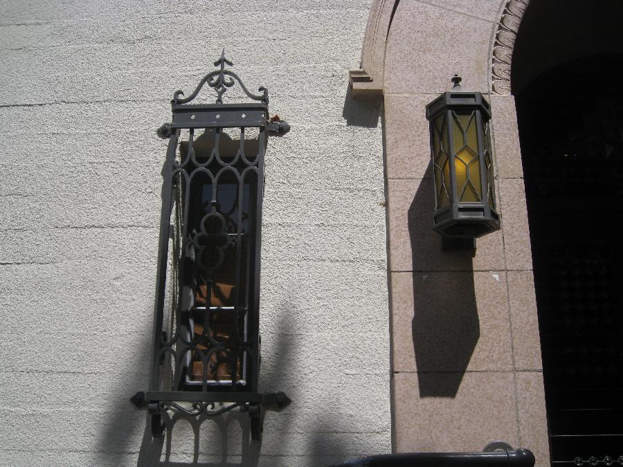 Old Davis City Hall, detail