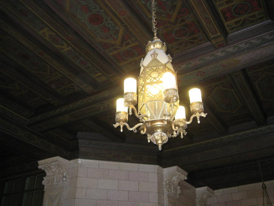 San Jose Post Office, ceiling and fixture