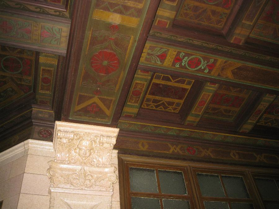 San Jose Post Office, ceiling detail