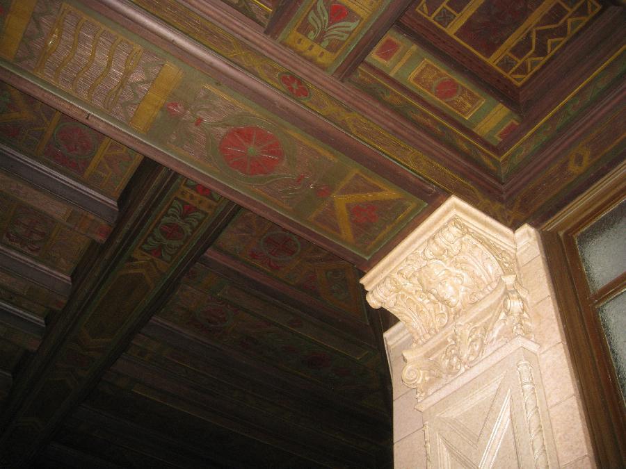 San Jose Post Office, ceiling detail 2
